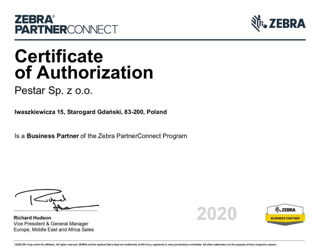 Certificate of Authorization 2020 03 05 1024x801