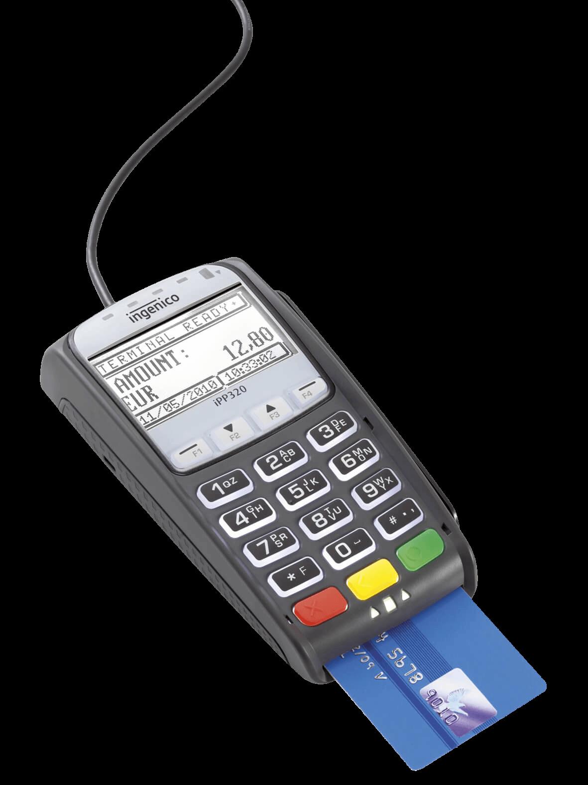 Terminal płatniczy - Paytel front